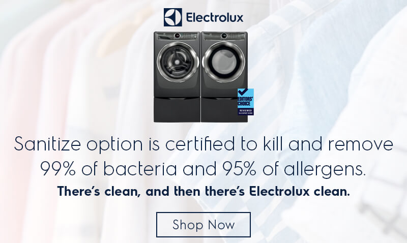 Electrolux Laundry with Sanitize Option