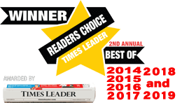 Winner of Times Leader, Readers Choice, Best Appliance Store for three years running!