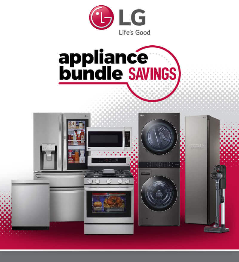 LG Appliance Bundle Savings